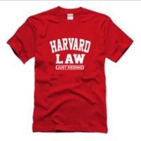 T Shirt Harvard LawKaos / Baju / T-Shirt Pria Murah Len