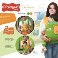 harga [DGG-4229] Dialogue Baby Gendongan Ransel Ergo (Polka Series) Tokopedia.com