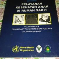 Buku Pelayanan Anak Who
