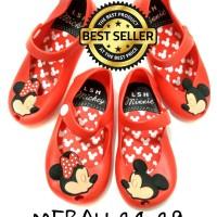 harga Jelly Shoes anak Minnie Mickey MERAH Tokopedia.com