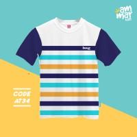 Baju Atasan Kaos Lengan Pendek Anak Muslim Size Xs-s Usia 1-4 Tahun