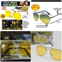 Kacamata HD vision Anti Silau Night View Glasses Vision As Seen On Tv