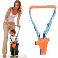 Baby MoonWalk Walking Assistance - Alat Bantu Jalan - Biru Orange