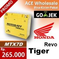 harga Aki kering/ Tiger Revo Honda/ MTX7D MOTOBATT/ cc accu motor Tokopedia.com