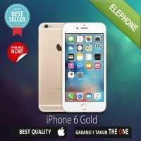 APPLE IPHONE 6 GOLD 16GB - GSM GARANSI DISTRIBUTOR 1 TAHUN