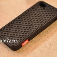 Casing case vans sol waffle Iphone 5/5S/5C - Full hitam