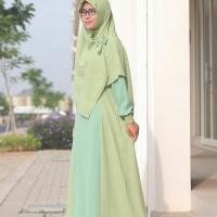 harga Gamis Set Hijab Alila Tokopedia.com