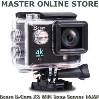 Bcare B-Cam X-3 Video Action Camera Black 16MP WiFi Sony Sensor Harga