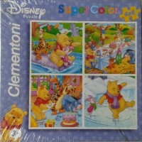 Puzzle Clementoni 4x6 - Winnie the Pooh 4 model gambar