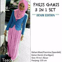Paris Gamis Pink Denim (tk) WH7N