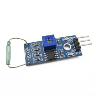 Sensor Magnetic Reed Switch Magnetron Magnet Modul Arduino MagSwitch