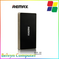 Remax 2 USB Series Power Bank 6000mAh - RPP-30 SILVER
