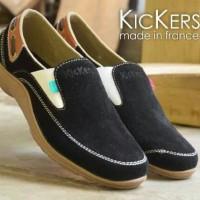 Promo Murah ! Sepatu Pria Slop On Kickers Casual Sewede Formal