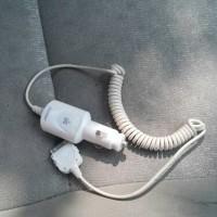 Charger hp untuk mobil ipad iphone 4.SECOND