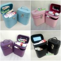 Tas Kosmetik / Tempat Makeup / Beauty Case / Box Make Up Full Color