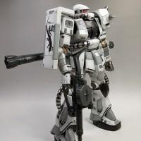 MG Zaku 2 white Ogre Gundam Hongli