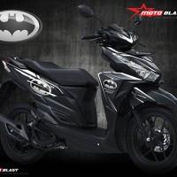 Honda Vario 125/150Esp - Black Batman White