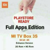 Jual Xiaomi hezi Mi box 3s sudah Playstore full apps edition nonton bareng Murah