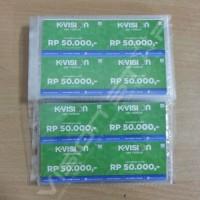 Voucher Kvision Rp 50.000