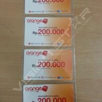 Voucher Orange TV Rp 200.000