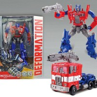 Jual KBB Transformers Deformation OPtimus Prime with Metal Part Murah