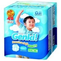 Diapers Nepia Genki XXL18 Premium Soft Pants Size XXL Isi 18