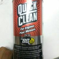 BG Quick Clean Engine Flush kemasan 325ml Made in USA