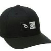 Topi / Hat Flexfit Ripcurl - - hitam full