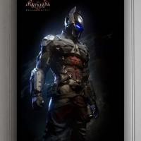 Poster + pigura Batman Arkham Knight (50x70cm)