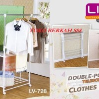 Harga Liveo Double Pole Clothes Hargano.com