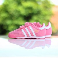 """ADIDAS DRAGON INFANT AND KIDS CF """"VAPOUR PINK/WHITE"""""""
