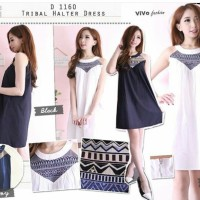 Jual Tribal halter dress #D1160 Murah