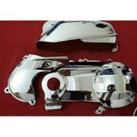 Cover Cvt mio M3 125 / Soul gt 125 blue core Crum / chrome
