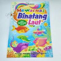 Buku Mewarnai - Binatang Laut