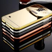 Casing Hp Cover Samsung S3 S4 S5 S6 S6 EDGE Miror Case Metal