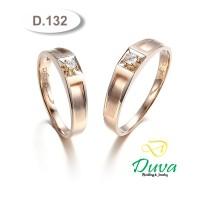 Cincin Kawin Tunangan Perak Couple D.132