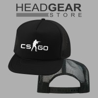 Topi Trucker Counter Strike CS GO 'HIGH QUALITY HATS'