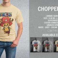 Kaos One Piece Tony Chopper 01 T-Shirt Raglan Anime OP