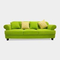 sofa minimalis hijau / sofa jepara