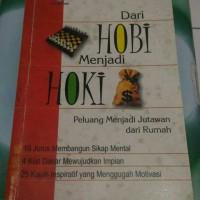 Harga BUKU SECOND DARI HOBI MENJADI HOKI | WIKIPRICE INDONESIA