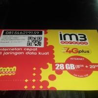 paket prna kuota M3 4G plus 28GB INTERNET indosat ooredoo JABODETABEK