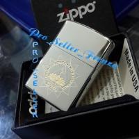 Zippo Super Premium Custom Logo IPMC ! Gratis Request Nama...!