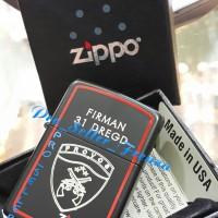 Zippo Super Premium Custom Logo Provos!! Gratis Req Nama!!