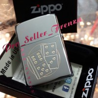 Zippo Super Premium Custom Gambar Dadu! Gratis Req Nama..!