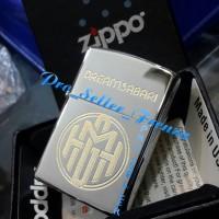Zippo SuperPremium Custom Grafir Logo....! Gratis Req Nama..!
