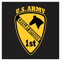 Kyle United States Army 1st Cavalry Division Cutting Sticker