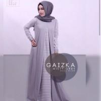 Gaizka Gamis terusan wanita baju muslim dress wamita baju syar i