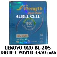 Baterai Batrai Batre Lenovo S920 Bl-208 Bl208 Battery Double Power