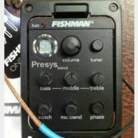 Fishman Presys Preamp Guitar Acoustic
