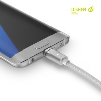 harga Original Wsken X-cable 2 Magnetic Cable 2 In 1 For Micro Usb And Light Tokopedia.com